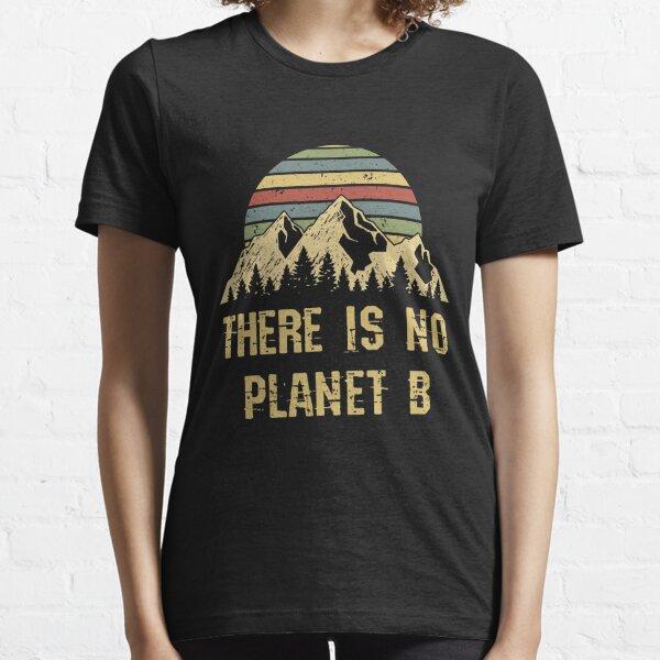 Camiseta del Día de la Tierra 2019 adultos vintage apenado NO planeta B Camiseta esencial