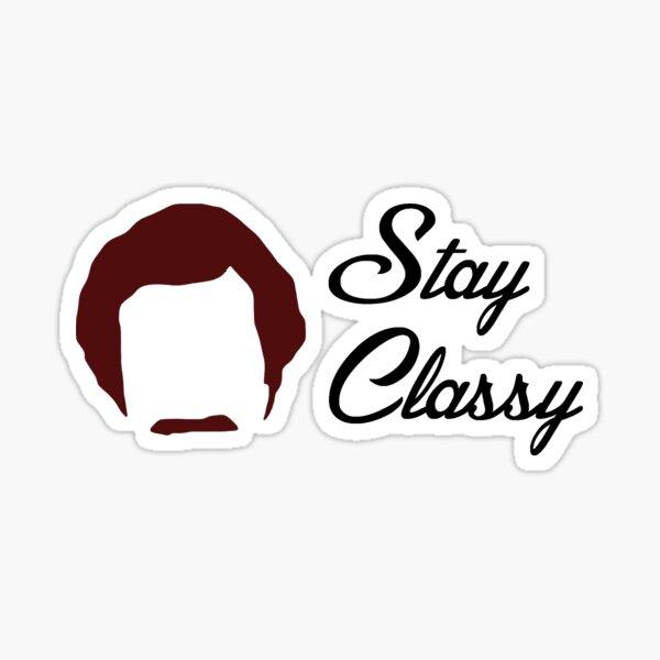 Anchorman - Stay Classy Sticker