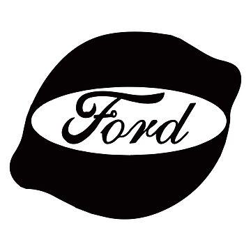 Ford Lemon Car or Truck - Black by parodywagon