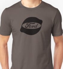 Ford Lemon Car or Truck - Black T-Shirt