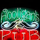 Hooligans Pub by Bob Larson
