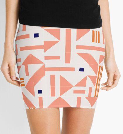 Random Tiles #redbubble #pattern Mini Skirt