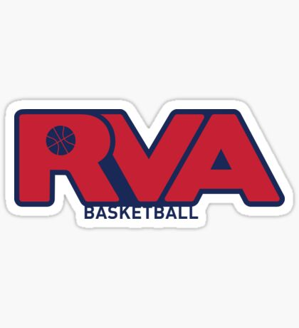 RVA UofR Basketball Sticker