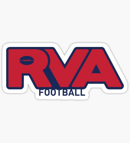 RVA UofR Football Sticker