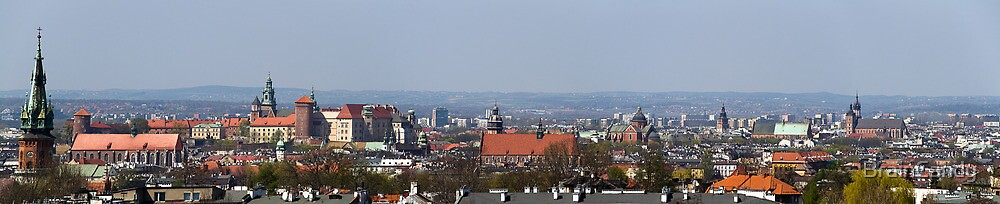 Krakow pano by BrainCandy