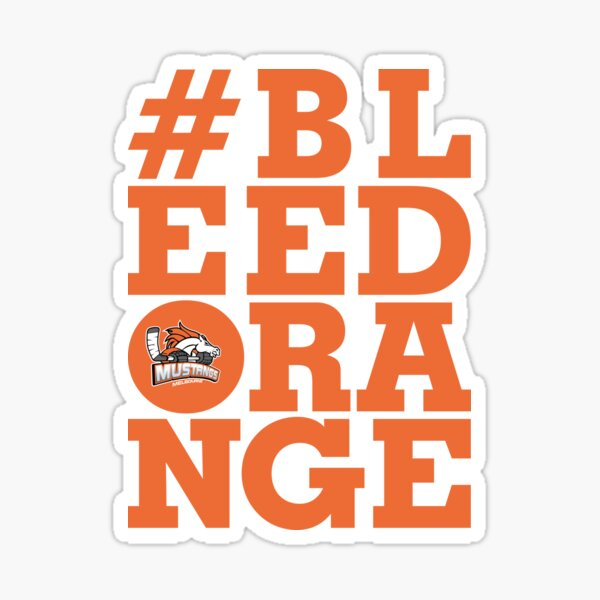 #BLEEDORANGE Orange Sticker