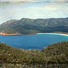 Wineglass Bay, Tasmania by Louise  Bishop
