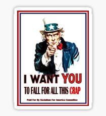 I Want You Too Sticker