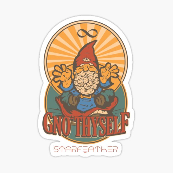 Gno Thyself Sticker
