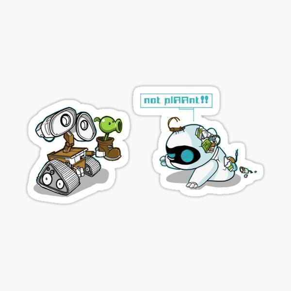 Eve zombie (plant) Sticker