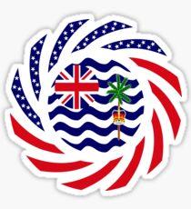 British Indian American Multinational Patriot Series Sticker