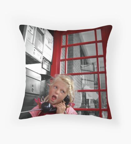 Chatterbox Throw Pillow