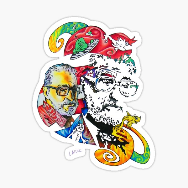 Theodor Seuss Geisel homage Sticker