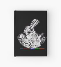 RABBIT F[R]IEND (iii) by RootCat Hardcover Journal