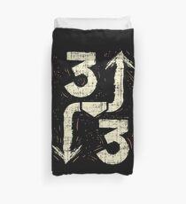 3 Up 3 Down Shirt Three Softball Baseball Fastpitch Catch Duvet Cover