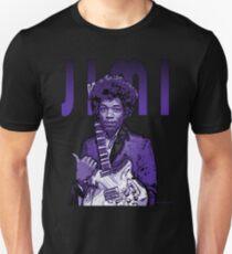 Purple Hendrix Unisex T-Shirt