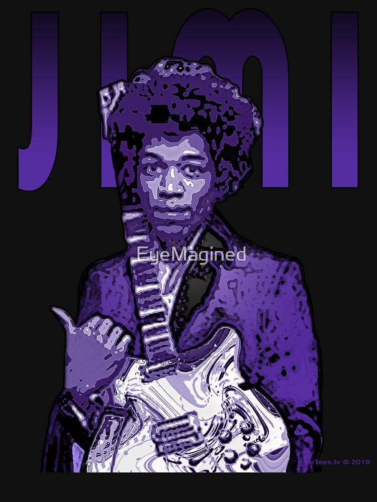 Purple Hendrix by EyeMagined