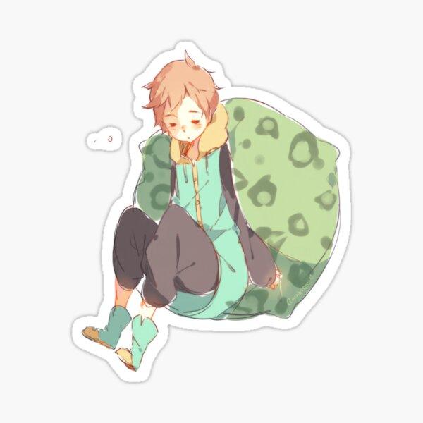 snoozing Sticker