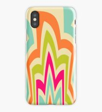 Modern Flame Colorful Pattern iPhone Case/Skin