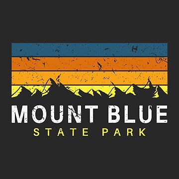 Mount Blue State Park Maine Souvenirs by fuller-factory