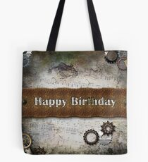 Steam Happy Birthday Tote Bag