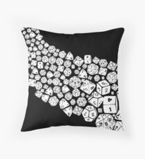 Dice spill Throw Pillow