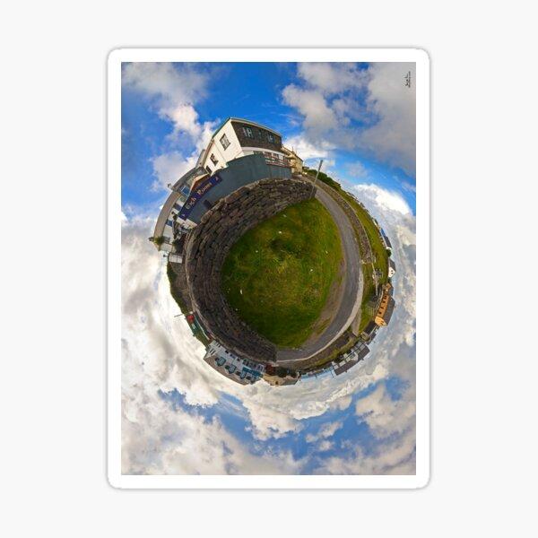 Tigh Ruairi - Inisheer Village (Sky out)  Sticker