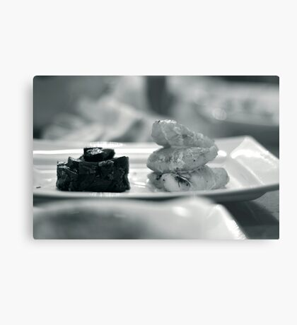 Monkfish and Beetroot Metal Print
