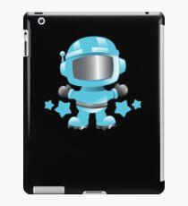 Little cute Space man in a Blue space suit iPad Case/Skin