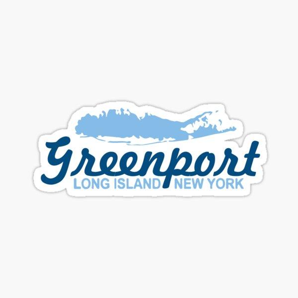 Greenport - Long Island. Sticker