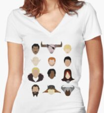 The Inquisition Women's Fitted V-Neck T-Shirt