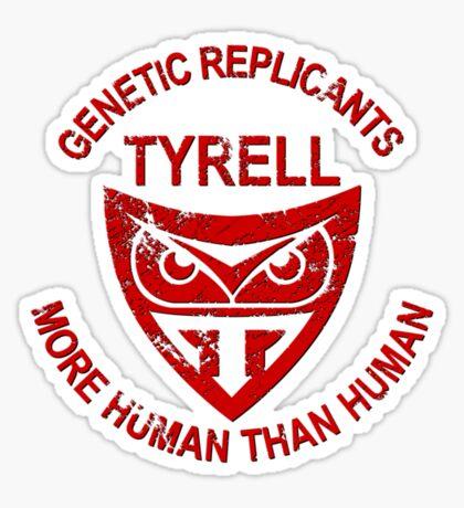 Tyrell Genetic Replicants Sticker