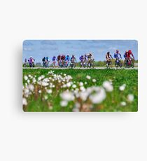 Giro d'Italia in Zeeland Canvas Print