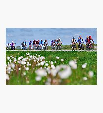 Giro d'Italia in Zeeland Photographic Print