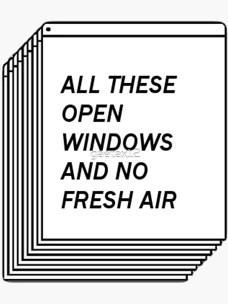 No Fresh Air by gaetax12