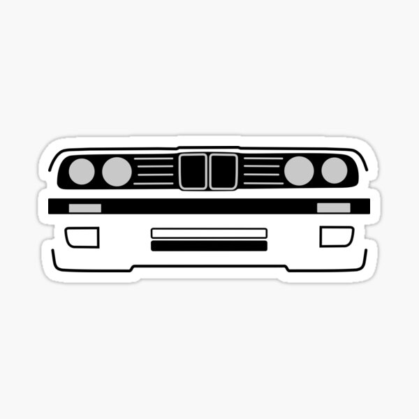 e30 Shadowline Sticker