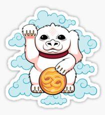 Glücklicher Drache - AUFKLEBER Sticker
