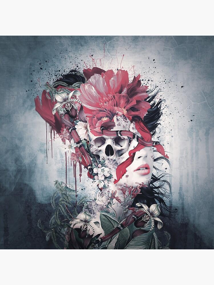 Skull Face by rizapeker
