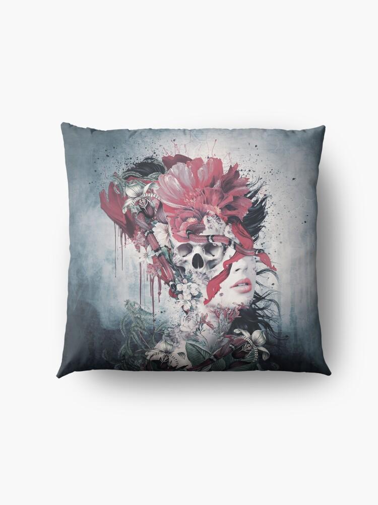 Alternate view of Skull Face Floor Pillow