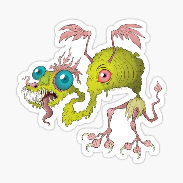 Skuzzy Dragon Sticker