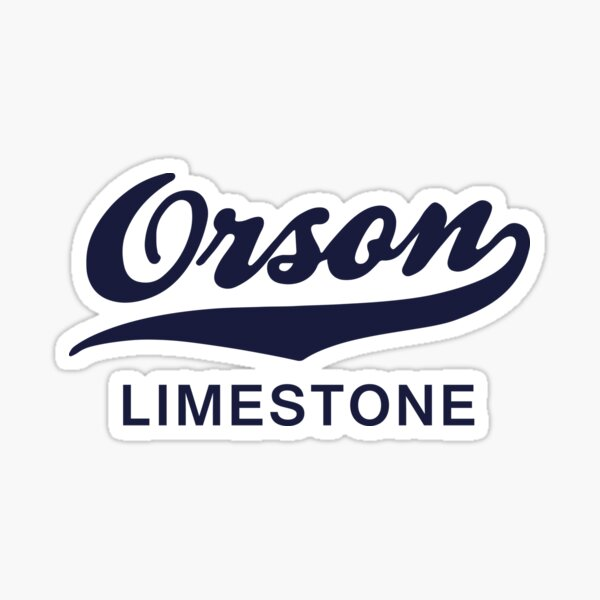 Orson Limestone (Solid Colour) Sticker