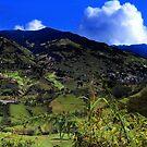 Panorama of El Pan by Al Bourassa