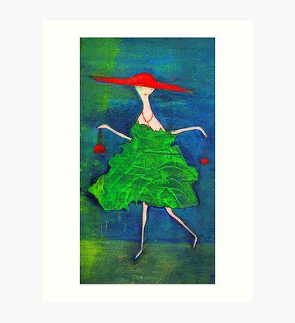 la Parisienne Art Print