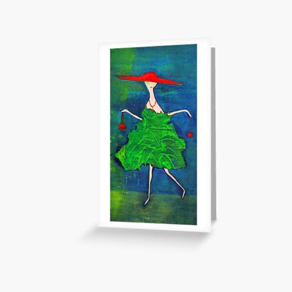 la Parisienne Greeting Card