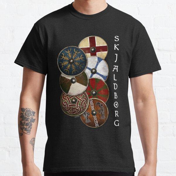 Mur de bouclier Viking  T-shirt classique