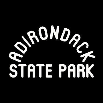 Adirondack State Park New York NY Emblem by fuller-factory