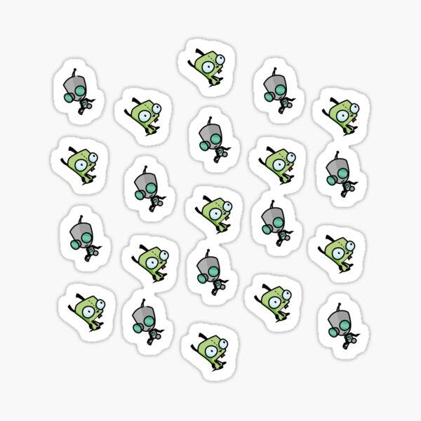 Checkered Gir pattern [Diagonal] Sticker