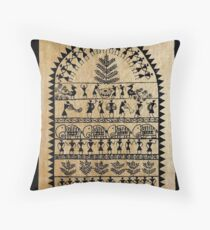 tribal art Floor Pillow