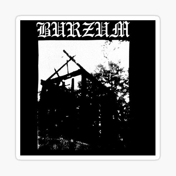 Burzum Black Metal Varg Vikernes Aske Sticker