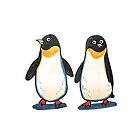 penguin couple by ClaireKang